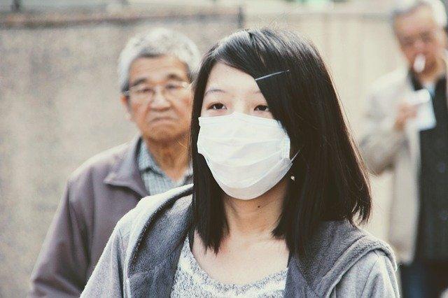 マスク 感染